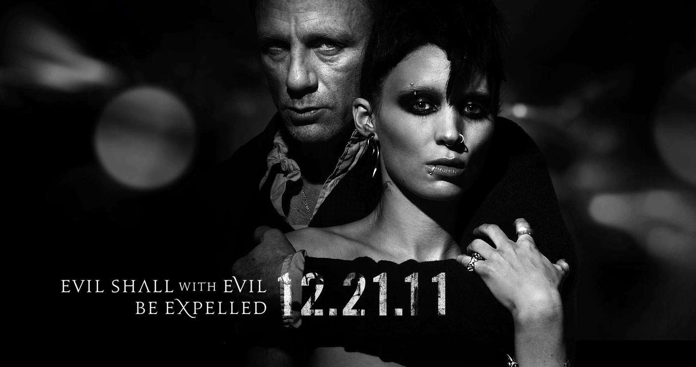 The girl with the dragon tattoo film review the silhouette for The girl with the dragon tattoo series order