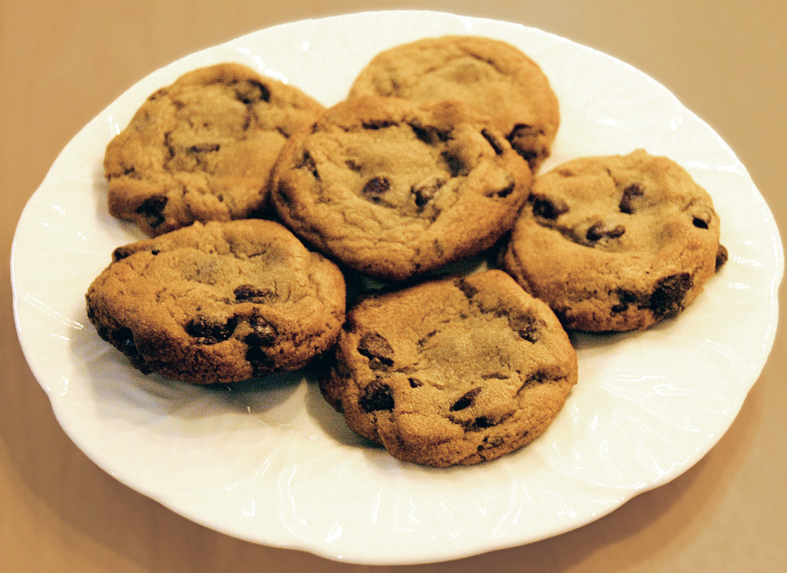 Chow down on gooey chocolate chip cookies — The Silhouette