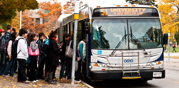 Along with an added trip to the 51 route, weekend runs of the 5A/5C to the Ancaster Meadowlands will benefit students.