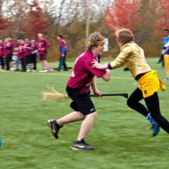McMaster Quidditch team gaining ground The game of Quidditch is becoming popular across the country, and the McMaster team continues to excel at it