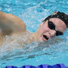 Mac swimmer ends career with CIS gold Konrad Bald just missed out on winning gold in 2014