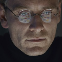 [REVIEW] Steve Jobs Michael Fassbender stars as Steve Jobs in the disappointing new biopic on the late Apple founder