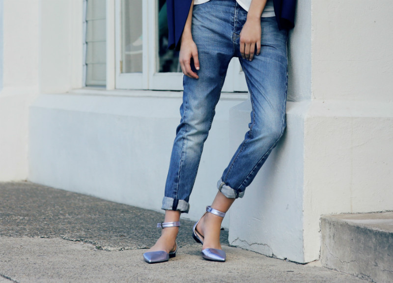 Break up with your boyfriend jeans — The Silhouette