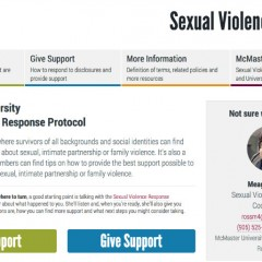 New protocol for supporting survivors Human Rights and Equity Services has launched a new initiative to support survivors of sexual violence