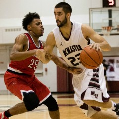 Men's basketball handling business McMaster looks to cross off more games in 2016 with wins