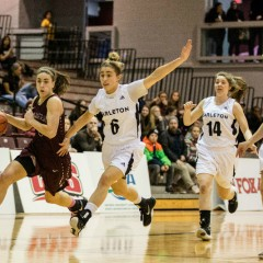 Banner bound With the last regular season game approaching, the mindset shifts to playoffs for the McMaster Women's Basketball team