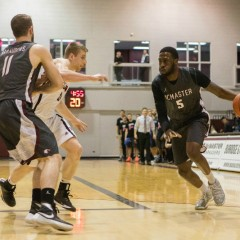 Only time will tell McMaster Men's Basketball looks to end the regular season on a strong note as playoff match-ups near