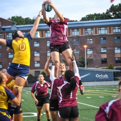 Crushing the competition The women's rugby team continue to stampede through the OUA, defeating Queen's 32-0