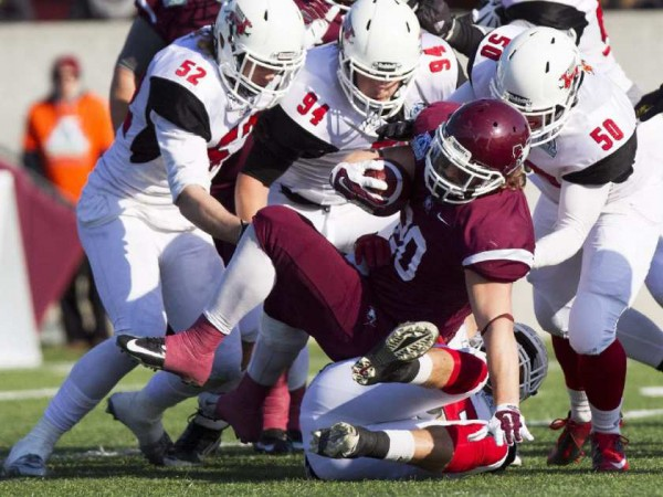 Know your enemy: Guelph Gryphons McMaster takes on Guelph during this year's Homecoming game
