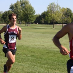 First foot forward The McMaster cross country team gets set for the long season ahead
