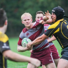 Fending off the Warriors McMaster men's rugby team get back in the win column in front of a spirited Homecoming crowd