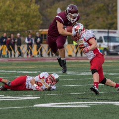 """Trust it, believe it, do it"" The McMaster football team advances to the OUA semi-finals following a late defensive stand against the rival Gryphons"