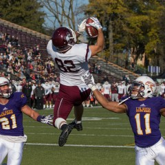 Too little, too late for Marauders McMaster football bounced from postseason play as comeback attempt falls flat against Laurier