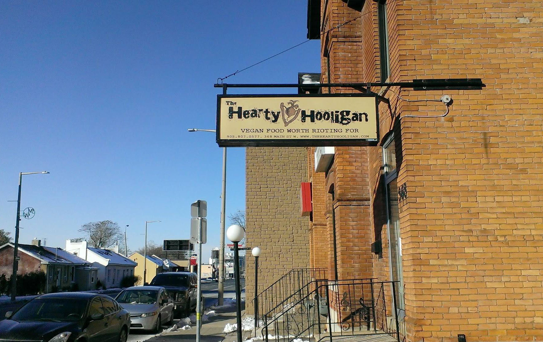 Delicious vegan junk food restaurant plans to open on corner of Locke and Main Street  The Hearty Hooligan specializes in serving vegan cakes, pizza, cookies, peanut butter cups and other comfort food favourites