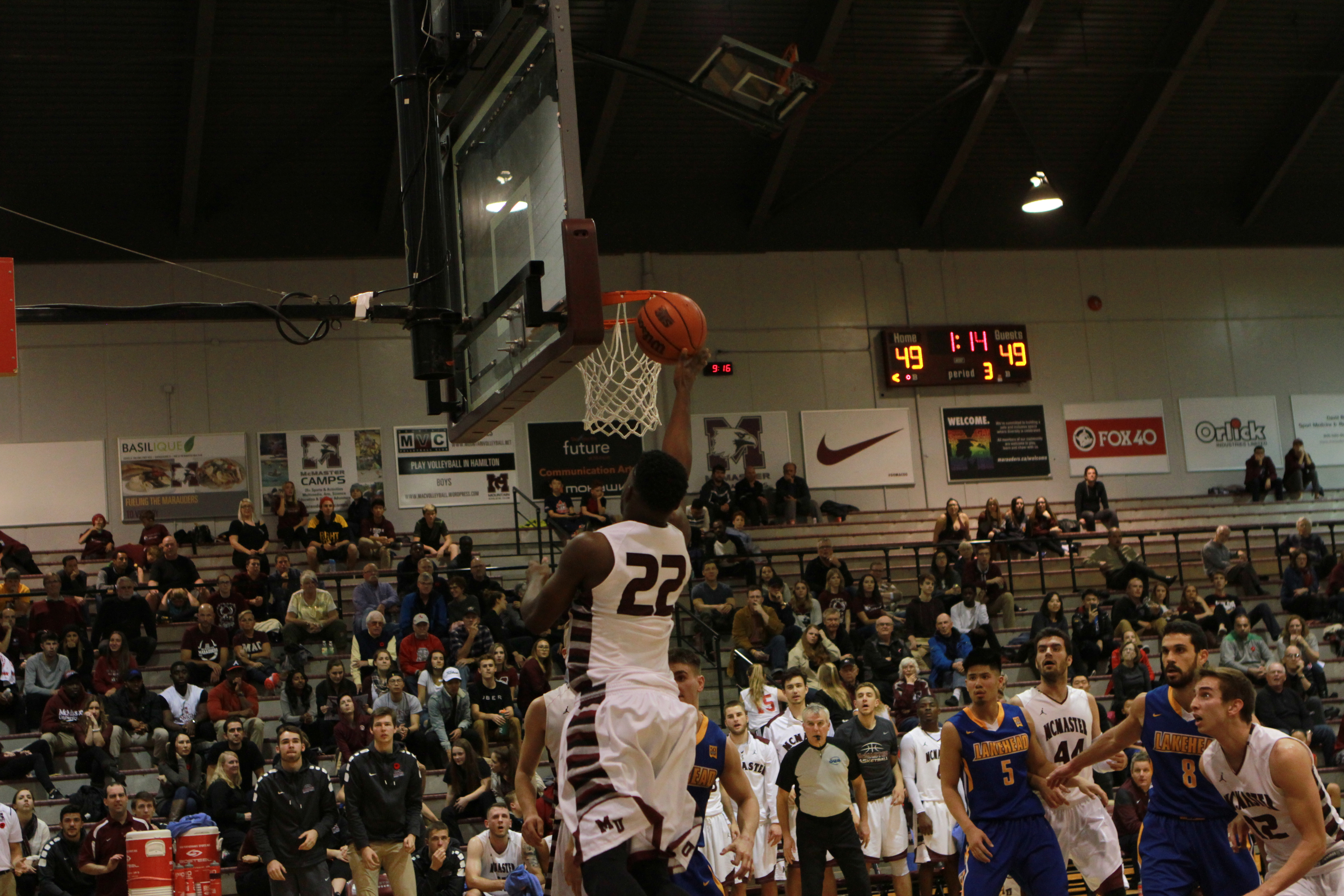 Room to grow for Mac men The men's basketball team is through the toughest part of their schedule and look to improve their defence in 2017