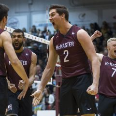 Buck-wild McMaster men's volleyball defeat our American neighbours