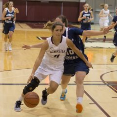 Women's basketball: midseason review The McMaster women's basketball team look to keep their place at the top of the standings