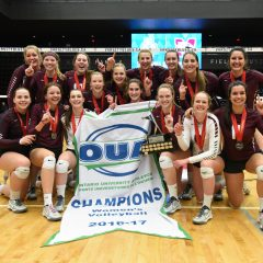 The fun is just beginning for women's volleyball After a thrilling five set win in the OUA final, the McMaster women's volleyball team advances to the U Sports national championship