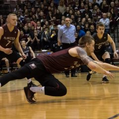 Marauder men capture bronze After being knocked out in the semi-finals by Trinity Western, the McMaster men's volleyball team capped off their season with a bronze medal victory at the U Sports championships