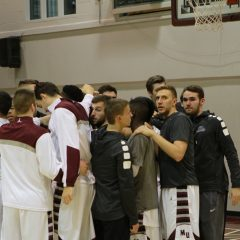 Staying on course for next season The McMaster men's basketball team are ready for next season with returning players and young leadership
