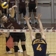 Be our guest The McMaster men's volleyball team hosts the OUA Final Four once again