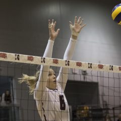 Next stop: The Goldring Centre Following a weekend victory over the York Lions, the McMaster women's volleyball team head to Toronto for OUA Final Four action