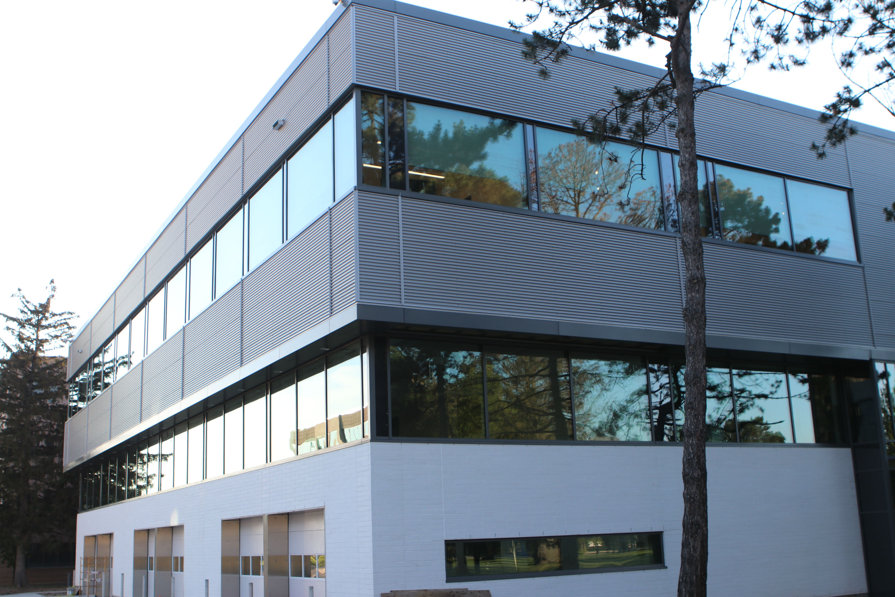 It's almost Hatch'd The new building offers benefits for multiple faculties, and is close to completion