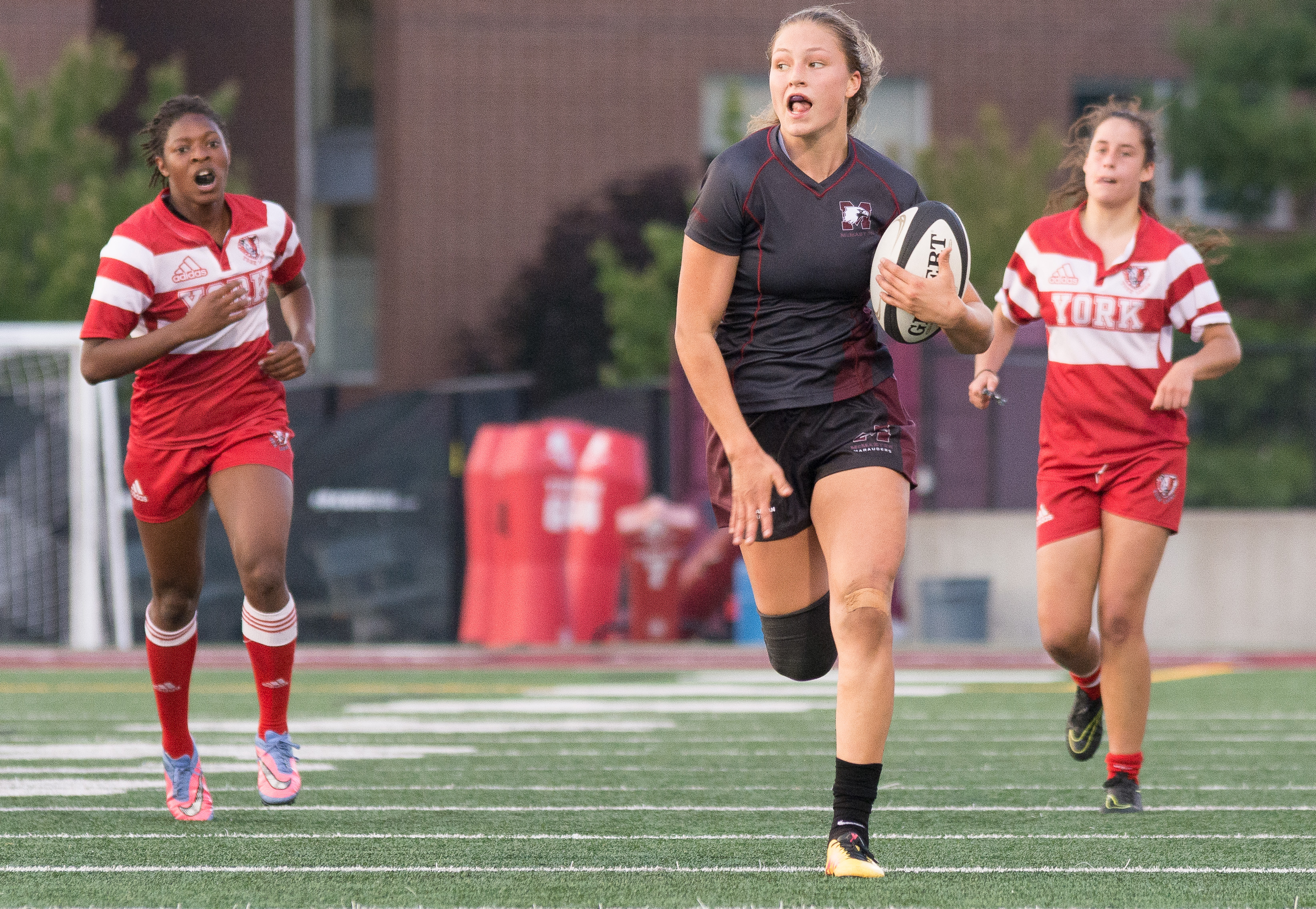 Unanswered offence; undefeated season The women's rugby team wins another game this season, continuing to dominate every team in their path