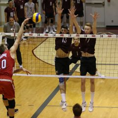 Something special As the undefeated men's volleyball team continue to steam roll the competition, we catch up with leader and fifth-year starter Brandon Koppers