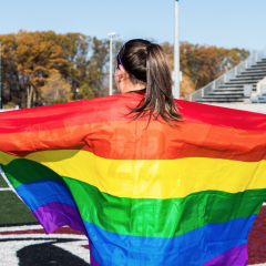 Marauder pride on and off the field OUA women's soccer second-team all star Mary Craig reflects on her experience as a gay athlete
