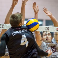 Creating championship culture The men's volleyball team adds another impressive victory to their international record in a back-to-back series against Long Beach State