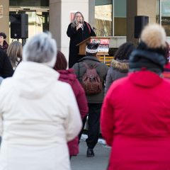 A look behind Women's March Forward 2018 A year after the first women's march, community organizers congregated in Hamilton city hall to explore new ways to advocate for equality