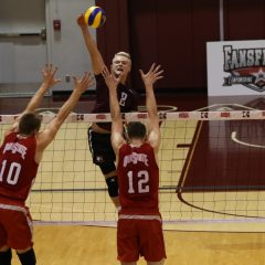 Set up for success In the midst of a successful sophomore season, setter David Doty embraces a larger role this year on a dominant Marauders team