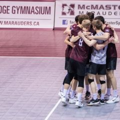 Onwards and upwards The men's volleyball team reflects on a record-breaking OUA weekend and looks to secure national glory one set at a time