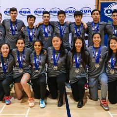 Silver is the new black McMaster's badminton team stuns their provincial competition by capturing silver at this year's OUA Championships
