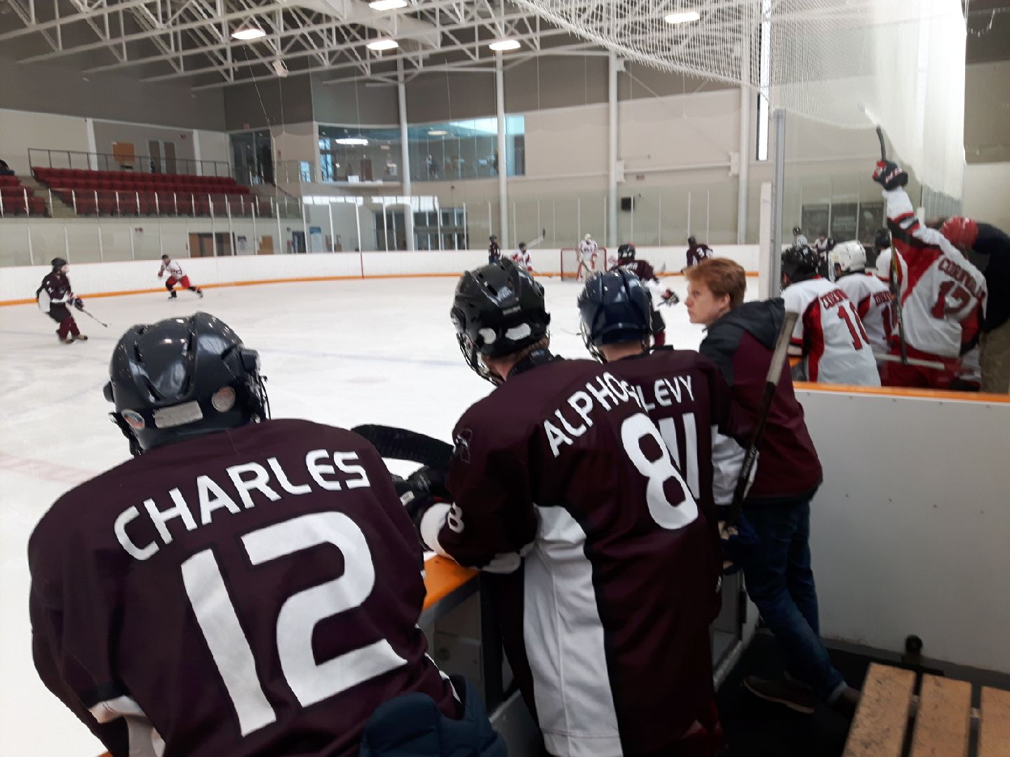 Skate, Mac, skate! The McMaster men's hockey club wraps up another long season of travel and tournaments led by coach Rob Wilkinson