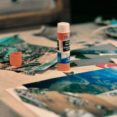 Cut, paste and chill Unleash your creativity while collaging at Sous Bas