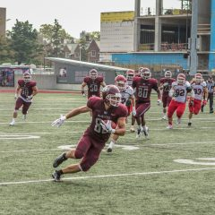 Young but relentless The McMaster Marauders may look younger than last year, but are looking to get better every day and every play