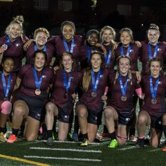 Here for one reason With nationals in sight, the women's rugby team is poised for a huge season