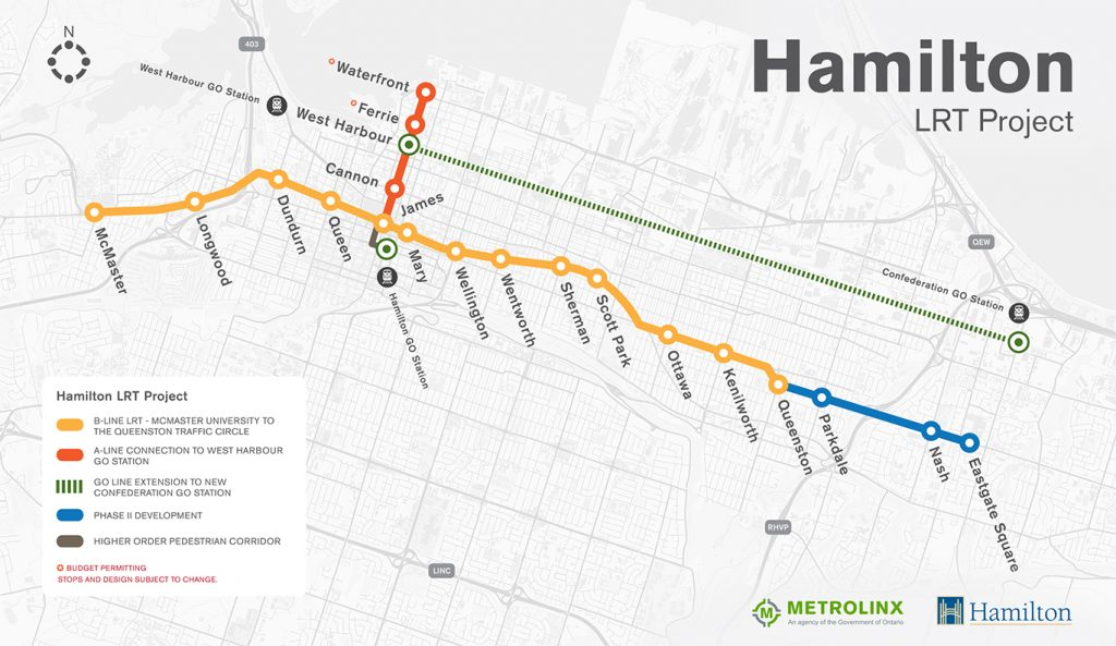 Hamilton Lrt Map What's up with LRT? — The Silhouette