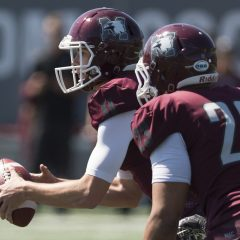 QB Andreas Dueck's impact on Mac football's run to the playoffs Andreas Dueck's second year as a Marauder, first year as a starter and everything in between