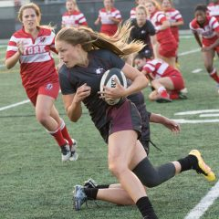 Mac's women's rugby team gears up for the OUA playoffs The McMaster women's rugby team heads into the playoffs 2-2, but are still looking to make the most of it
