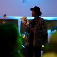 Snaps for Moon Milk Sister Moon Collective hosts monthly nights of poetry readings