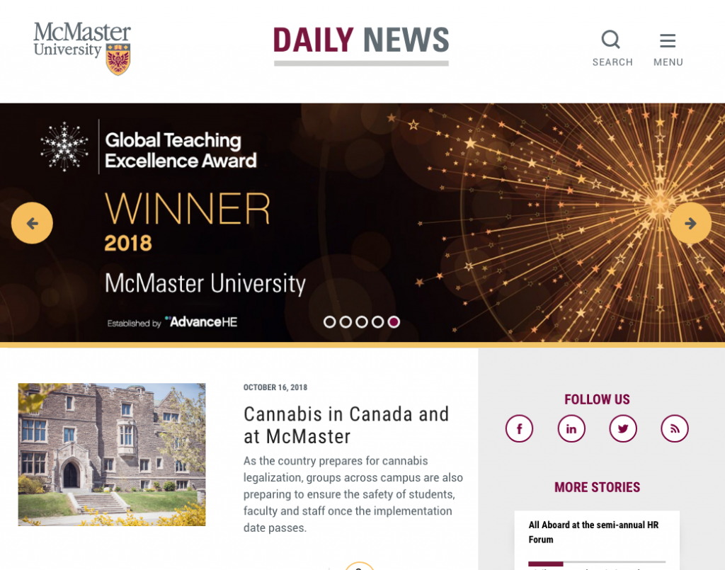 91f0fe2f4c04f McMaster Daily News is not news The university s public relations site  being portrayed as a news outlet is dangerous to students
