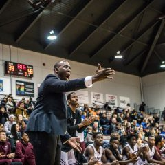 Basketball coach Tatham reflects on facing his old team Head coach Patrick Tatham reflects on changes, wins and losses and facing old friends