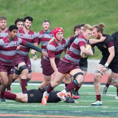 Rugby's Richardson talks career and team's development Fourth-year rugby player Mitchell Richardson details his time on the McMaster men's rugby team and how the program is set up to take over the province