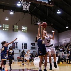 Harper and Gates catching fire as they lead women's basketball to #5 in Canada Sitting on top of the OUA West, the women's basketball team is stuffing the stat sheet on their way to another successful season thanks to a balanced roster