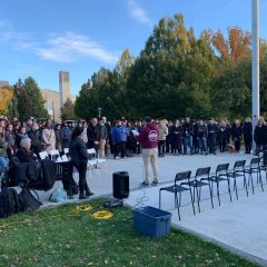 Students hold vigil to mourn Pittsburgh victims The McMaster Jewish community reflects on the tragedy and prevalence of anti-Semitism