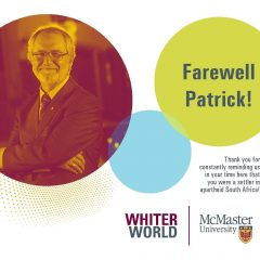 "McMaster student activists launch ""Whiter World"" campaign The posters allege that university has promotes bigotry, white supremacy and endangers marginalized communities"