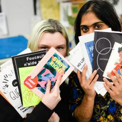 For the love of zines Zine Club gathers zine creators and sparks interest in the arts community
